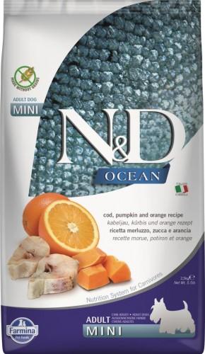N&D Ocean Dog Codfish, Pumpkin and Orange Mini